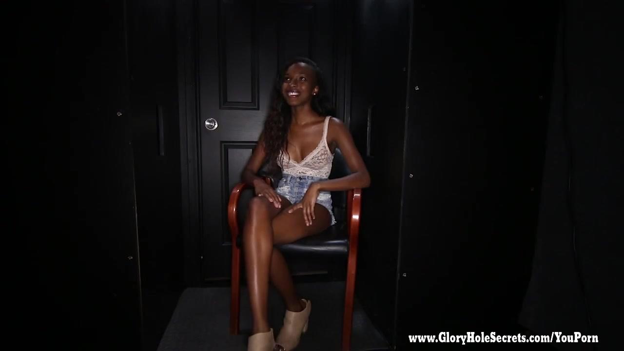 Ebony Sucking Dick Together