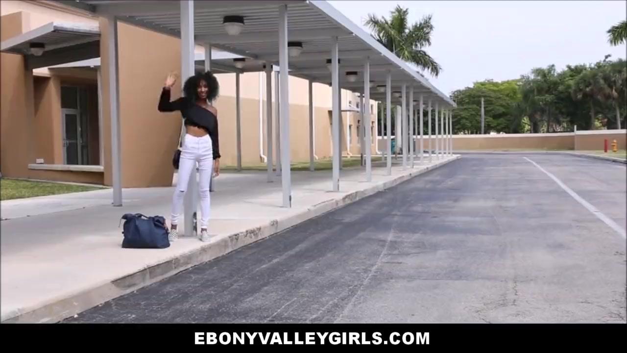 Rough Black Lesbian Strap