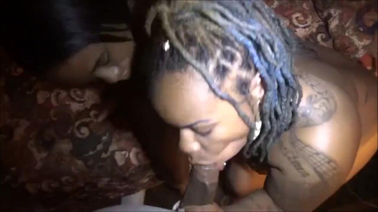 Ebony Rubbing Pussy Dick