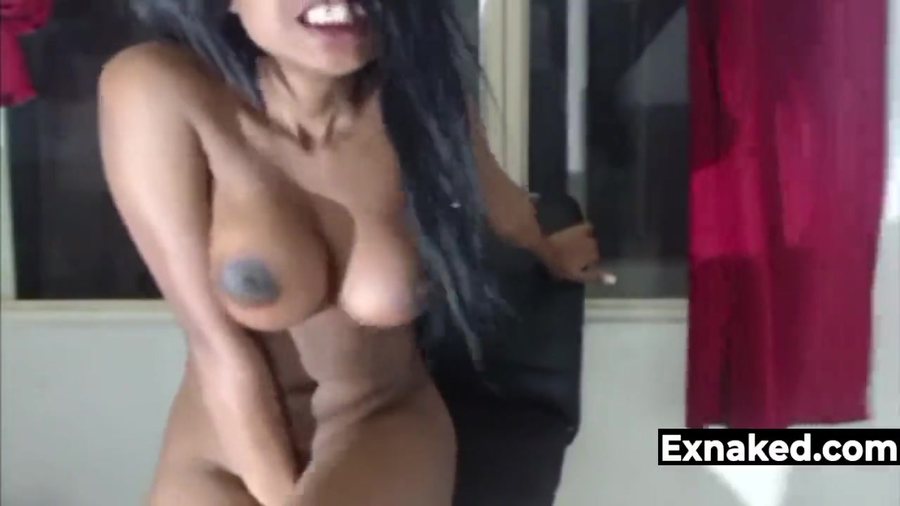Ebony Girl Explosive Orgasm