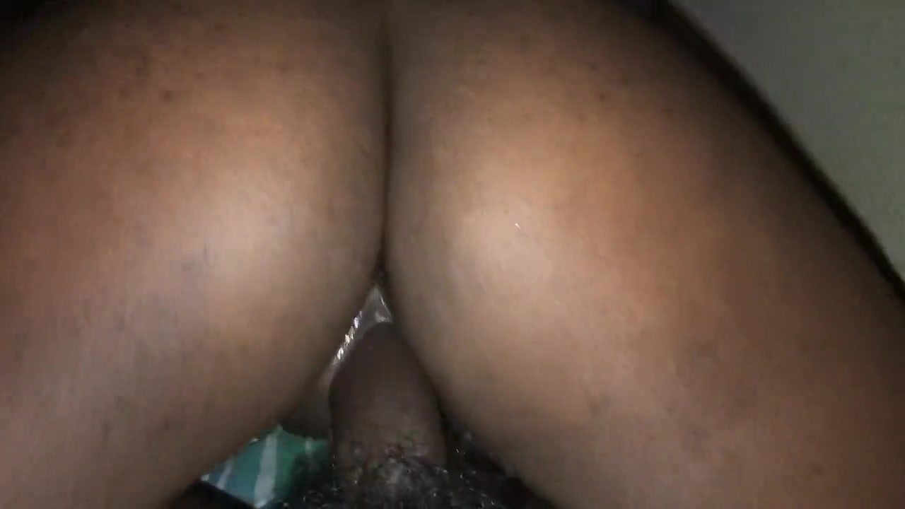 Big Ebony Booty Riding Dick