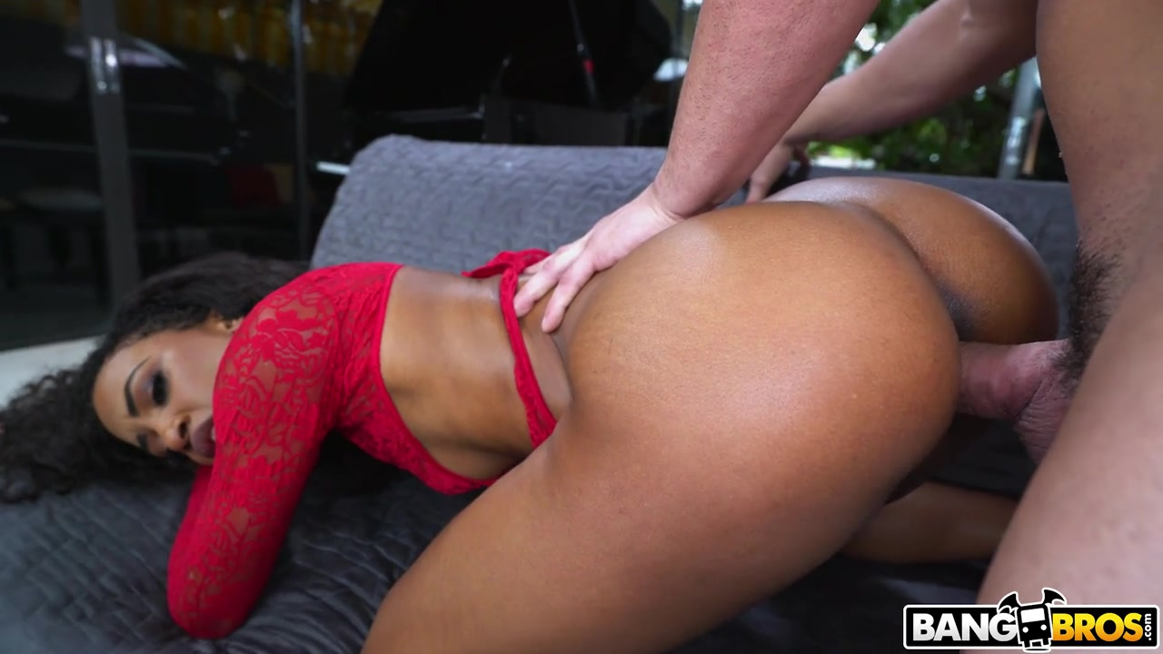 Ebony Interracial Anal Hd
