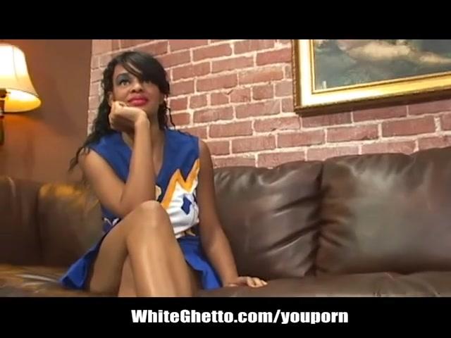 Black ebony cheerleaders porn