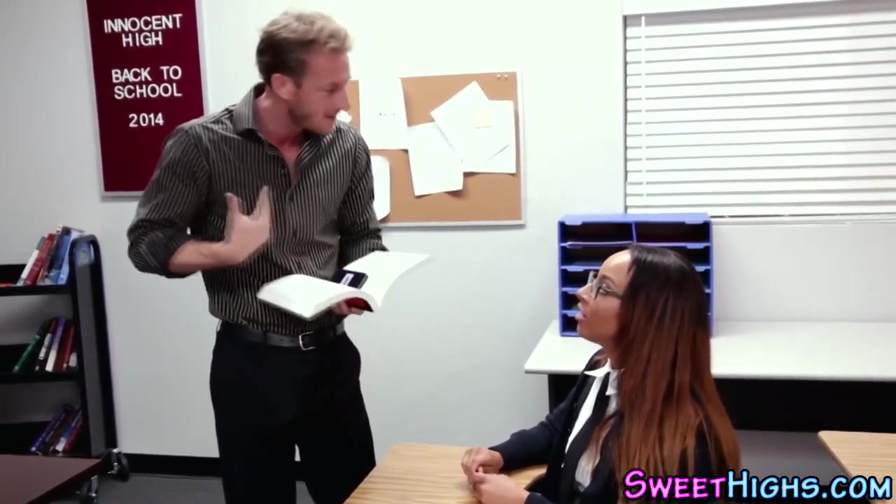 Ebony Getting Fucked School
